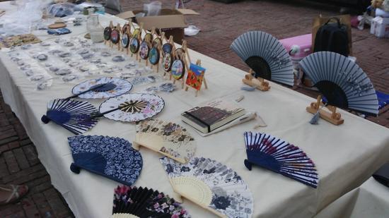 布艺,串珠,陶艺,编织等作品应有尽有,为到来的游客奉上一场青春与创意图片