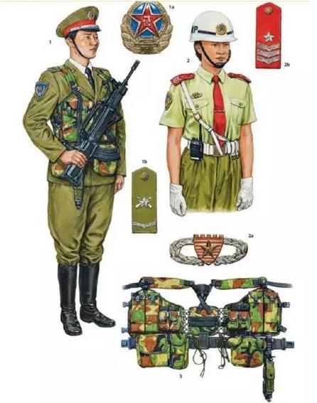 解密中国人民解放军军服发展史