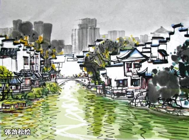 避开各种堵︱一组手绘地图带你读懂江苏最美的十三个景点