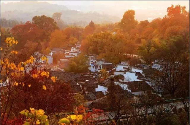 中国3大赏秋地之一,比喀纳斯秋天美10倍,这个兄妹有毒漫画图片