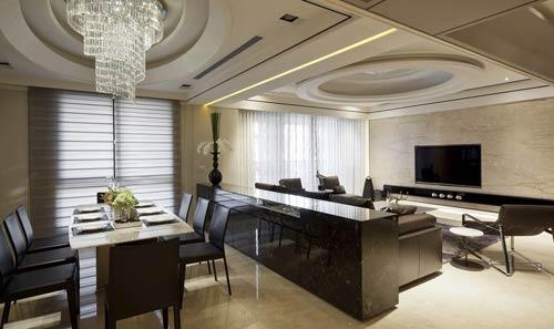 200平欧式后现代风格豪华装修案例