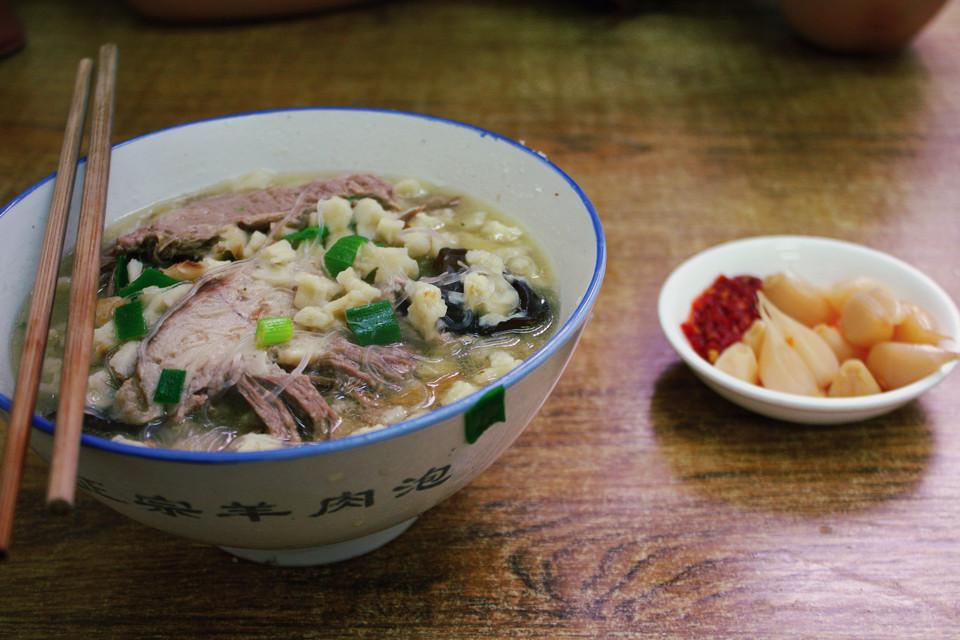 西安人最爱去的10条美食街!模板成都介绍的ppt美食图片