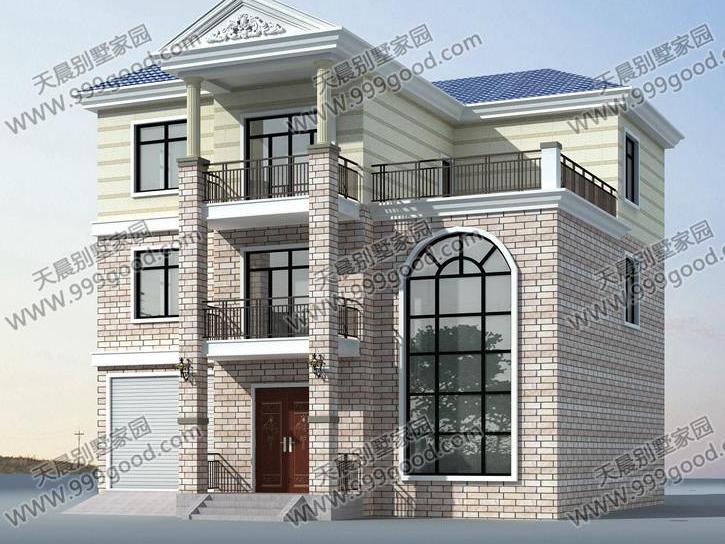 农村自建房,共两层,楼梯间设计是进深3.6米,宽度是2.图片