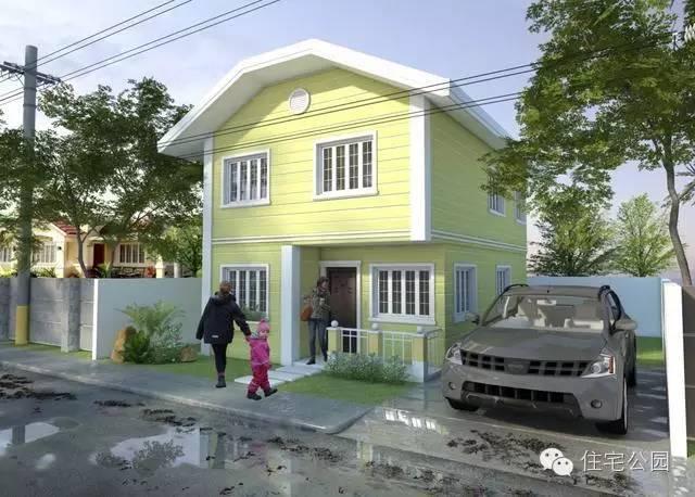 20套乡村别墅设计图 现代风格小户型 值得珍藏图片