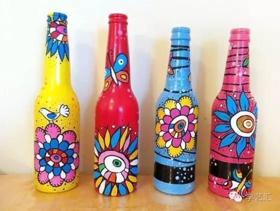 创意瓶子 | 让孩子爱上绘画