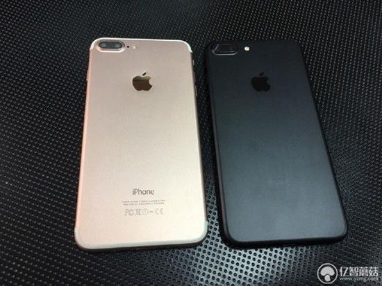 同样是双摄,还是以假乱真.买iphone7外观7p图片