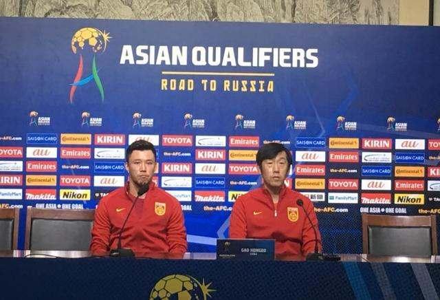 中国足球队主力11人已确定:张玉宁、郜林进攻