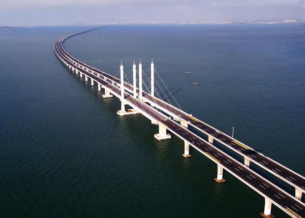 2. 杭州湾跨海大桥图片