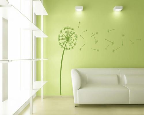 手绘墙面装修效果图