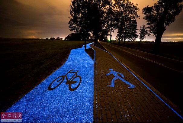 转载波兰建太阳能自行车道 黑夜之中闪闪发光 - 云淡风清 - 随心z.y的博客