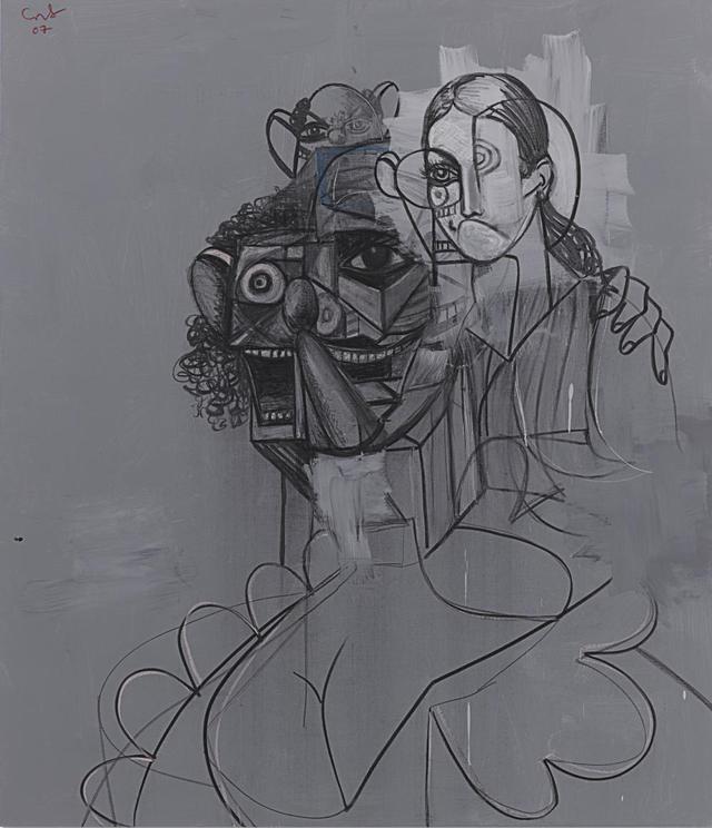 手绘艺术团招新海报