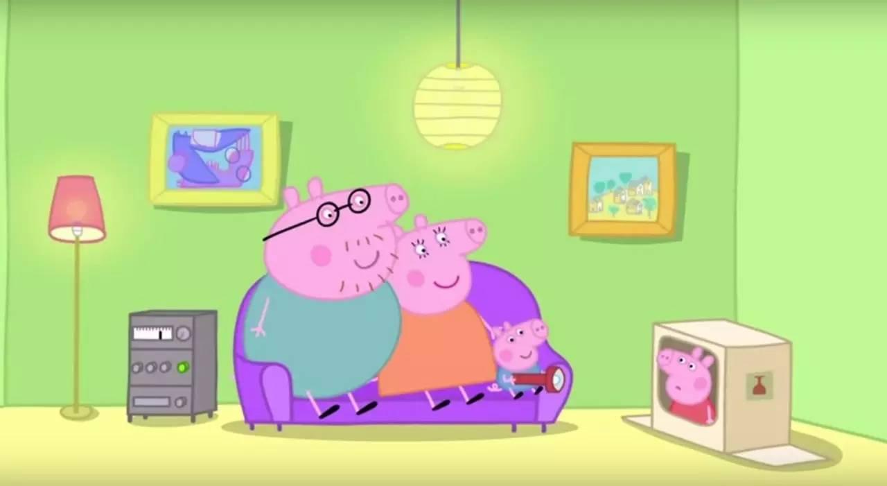 小猪佩奇和猪妈妈去苏西家坐客