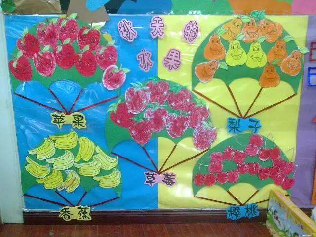 【环创】幼儿园-秋天创意主题墙