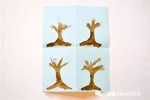 钩针编织树叶图解步骤
