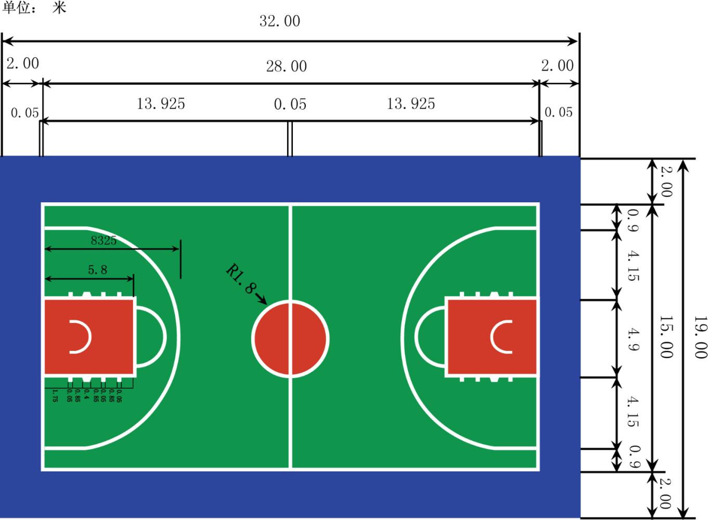 【规则】篮球场:一个像nba一样的篮球场图片