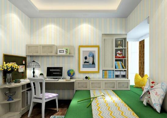 2016家庭书房装修效果图大全图片