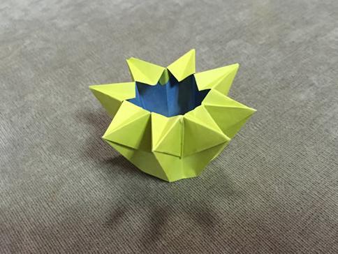 你 手工折纸 八角盒折纸视频图解