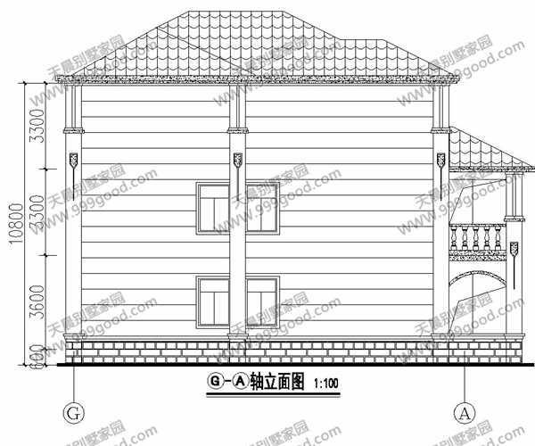 新农村自建房别墅设计图