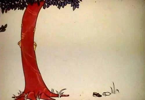 苹果树和小孩的故事图片