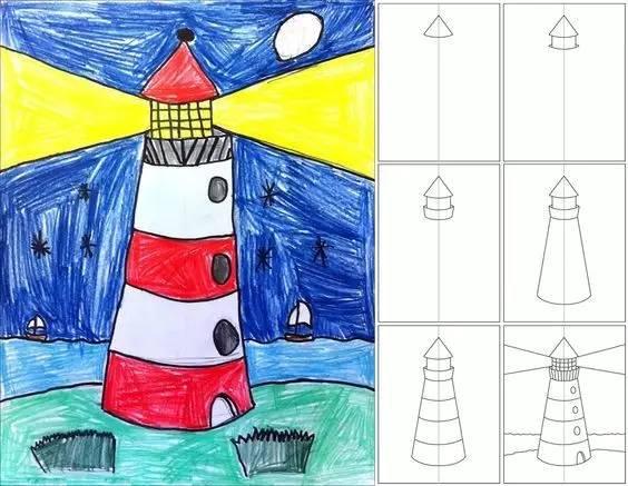 【简笔画】最新儿童简笔画教程(附步骤图,速收藏)