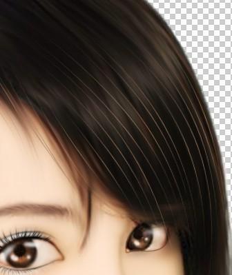 设计教程:ps把美女头像转成漂亮的仿手绘效果