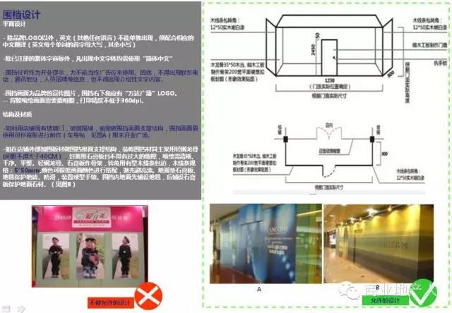 万达广场商铺装修设计全套资料 有种距离叫细节高清图片