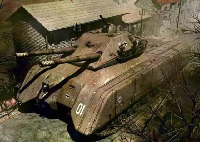 鼠式坦克高清壁纸_(2)鼠式坦克