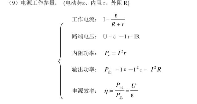 高中物理知识结构图