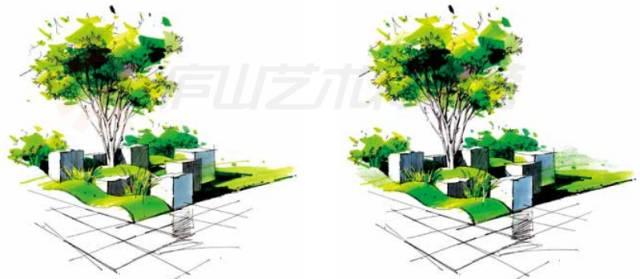 景观手绘基本技法,超实用!