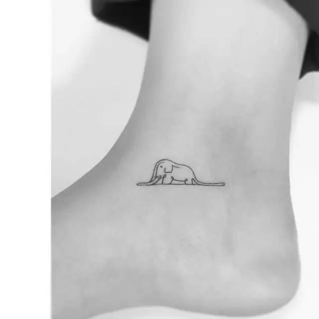 女性韩式小清新纹身!图片