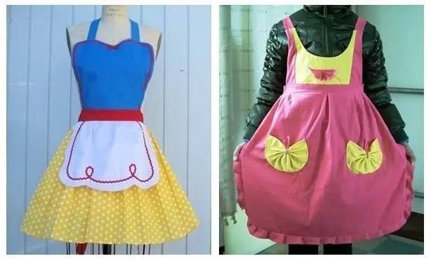 幼儿手工围裙制作