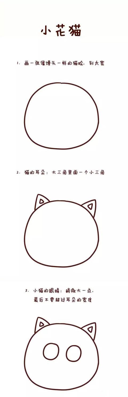 萌萌哒简笔画教程,孩子一学就会!(一)