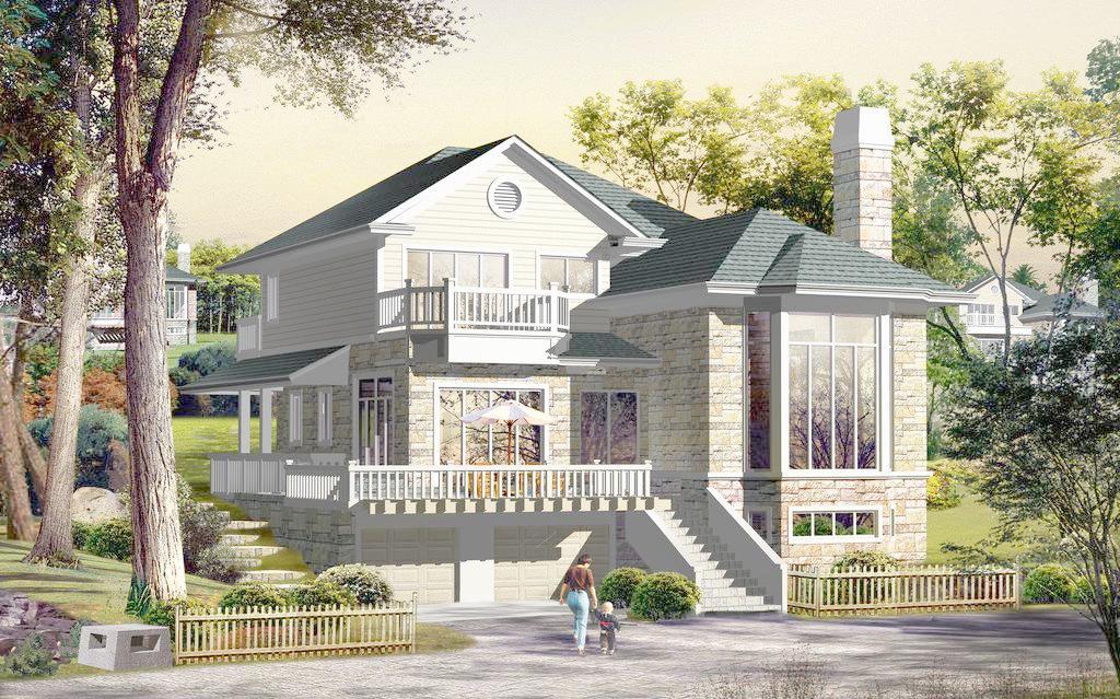 最流行的钢结构别墅是欧式别墅设计格调