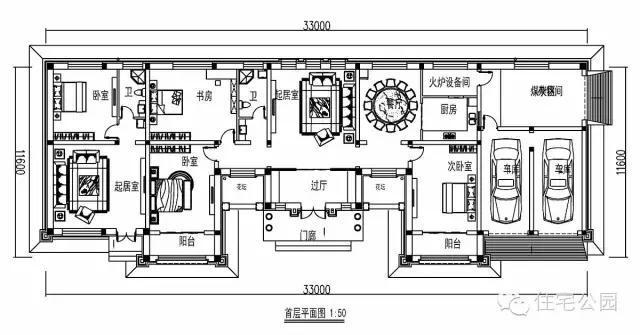 家用火炕内部结构图