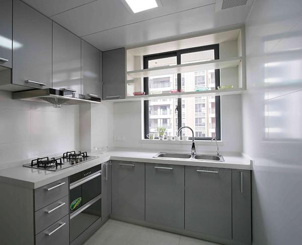 新都装修设计公司分享简约小户型厨房装修效果图图片