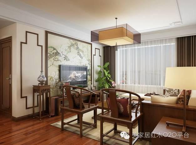 万众风情窗帘,红木家具搭配的必备良品!