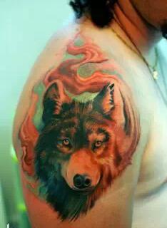 嗜血狼纹身含义分享展示