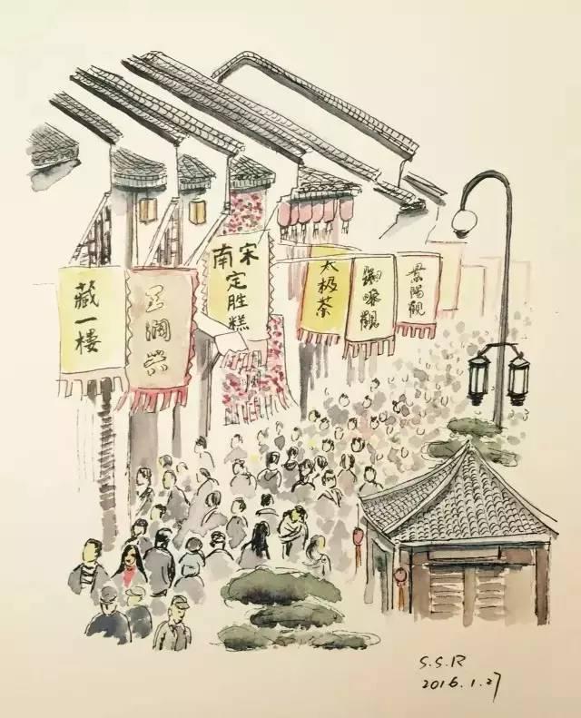 前門大街的文化廟會
