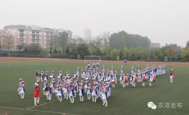 """日照东港区 """"红领巾相约中国梦""""少先队鼓号操大赛"""