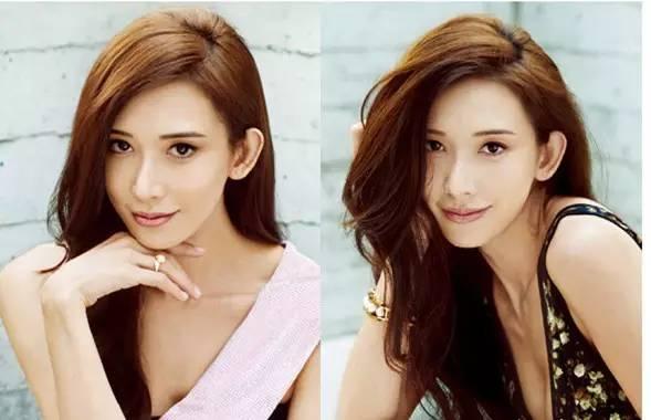 林志玲侧分发型图片