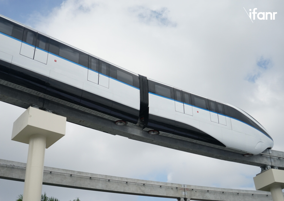 """比亚迪""""云轨""""亮相深圳,将来上班也许不用挤地铁了"""""""