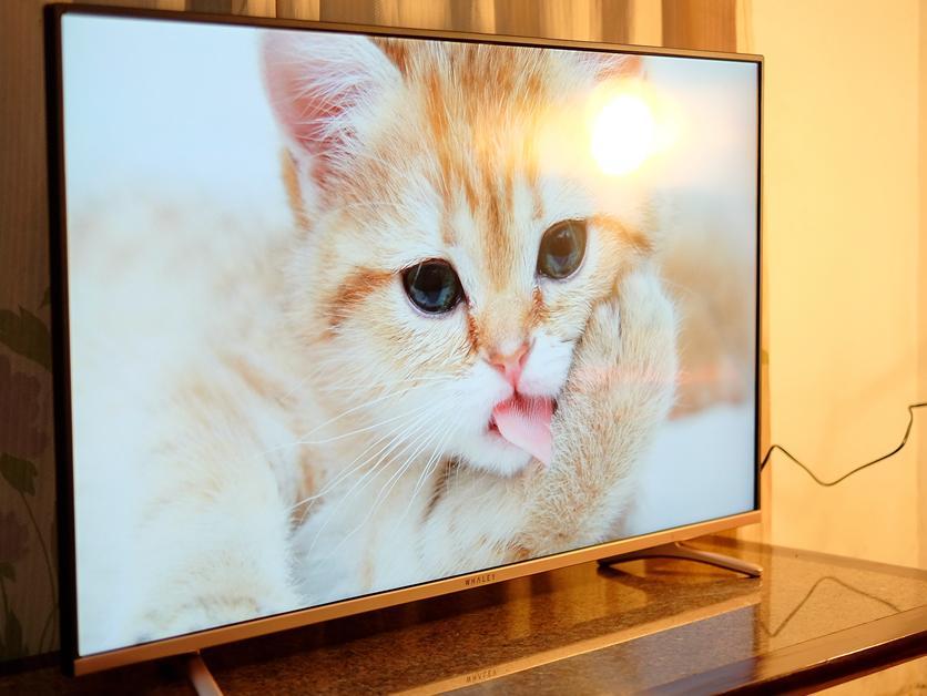 """省钱省事省空间,微鲸小钢炮43寸4K电视倾情上手体"""""""
