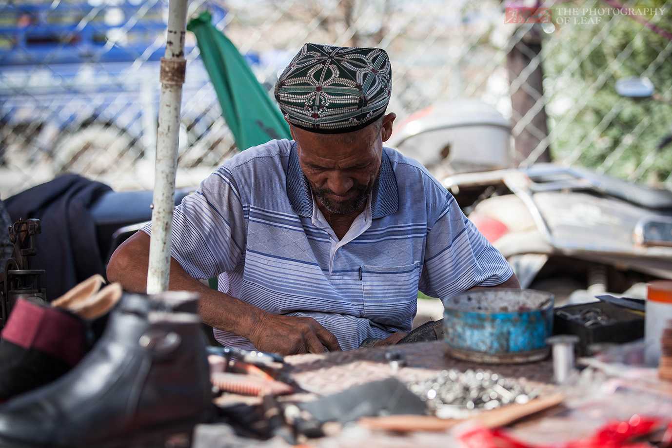 巴楚周日巴扎,感受普通新疆市民生活 - 寒残一叶 - 寒残一叶的博客