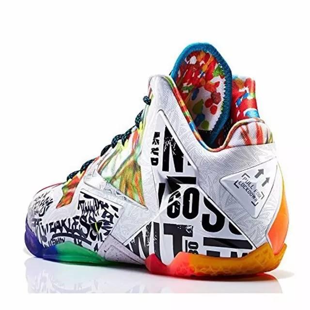 詹姆斯11代 耐克NikeLebron Xi Premium男士鸳鸯篮球鞋