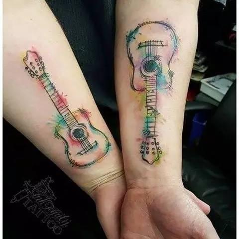音乐爱好者纹身