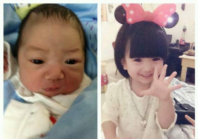 宝宝从丑到美只是个过程