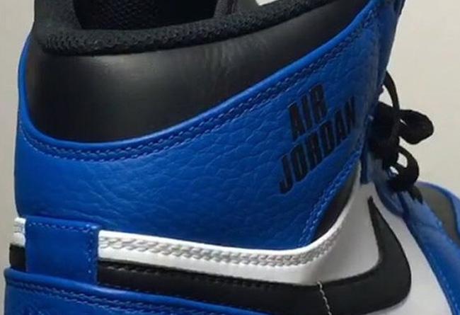"""感觉一般!Air Jordan 1 AJ1黑蓝配色曝光了"""""""