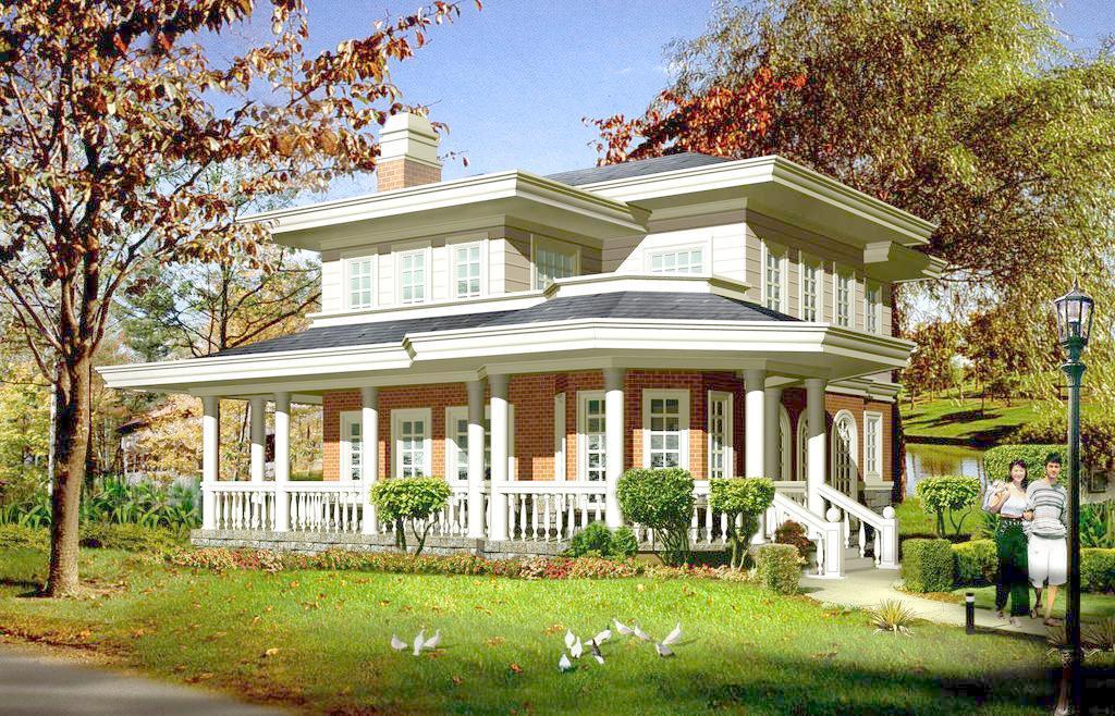 钢结构优点的造价与别墅别墅山东速建图片