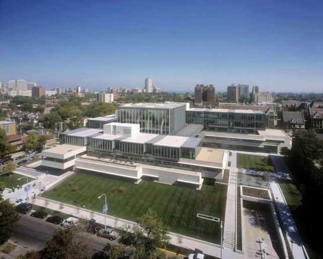 """是建筑还是艺术?一起来看看芝加哥大学布斯商学院"""""""