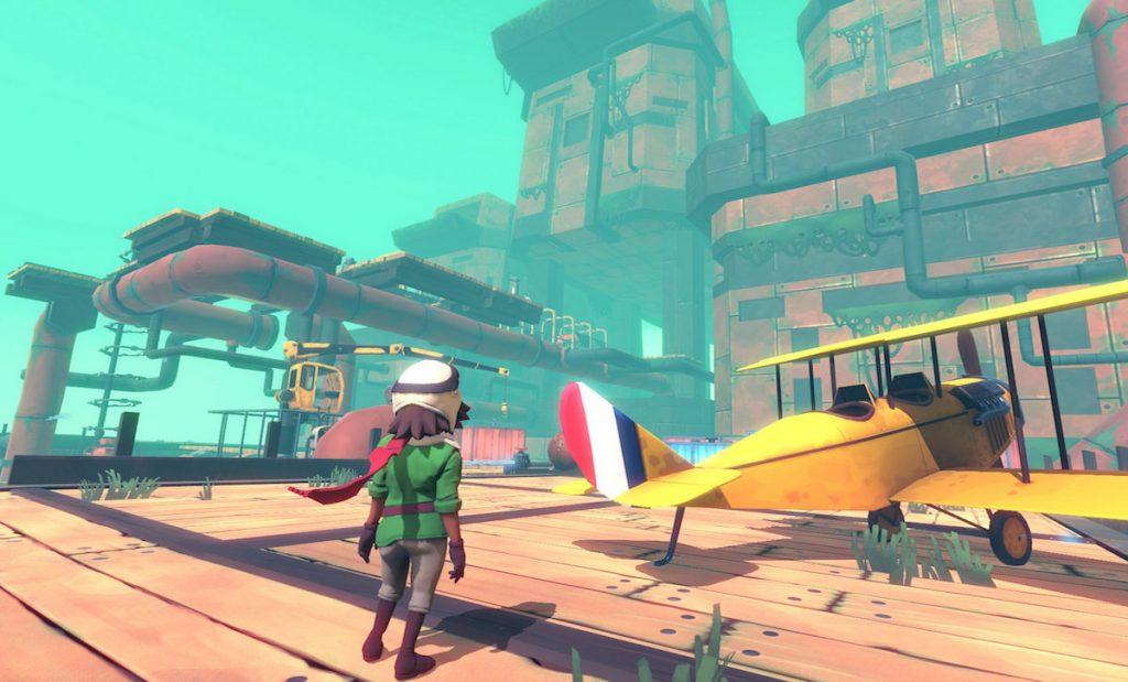 "PS VR 首发游戏《Wayward Sky》:虚拟世界里的一场"""